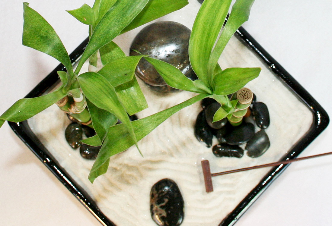 Provide A Sturdy Base For Your Zen Garden. Work